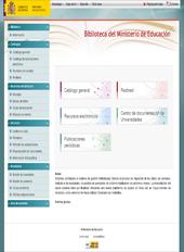 Biblioteca digital online del Ministerio de Educación