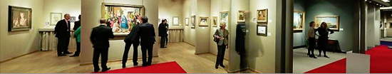 Stand de TEFAF (The European Fine Art Fair) Maastricht, Holanda