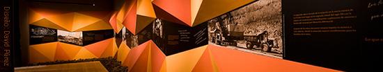 Museo del Cante de las Minas, La Unión (Murcia). Diseño David Pérez
