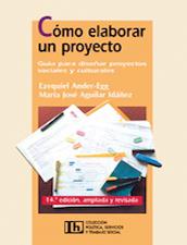 Cómo elaborar un proyecto Guía para diseñar proyectos sociales y culturales