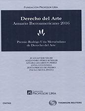 Derecho del Arte. Anuario Iberoamericano 2016.