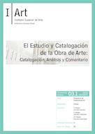 D03.01. El Estudio de la Obra de Arte: Catalogación, Análisis y Comentario.