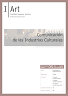 D05.01. Comunicación de las Industrias Culturales.