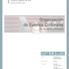 D09.01. Organización de Eventos Culturales. Planificación y Protocolo.
